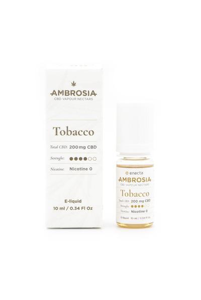 Enecta 200mg CBD Ambrosia Tobacco E-Liquid (10ml)