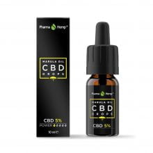 Pharma Hemp CBD Drops Marula Oil 5% (10ml)