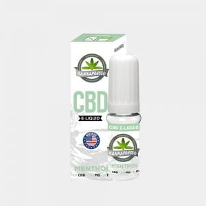 Cannapresso - Mint CBD E-Liquid (10ml/100mg)