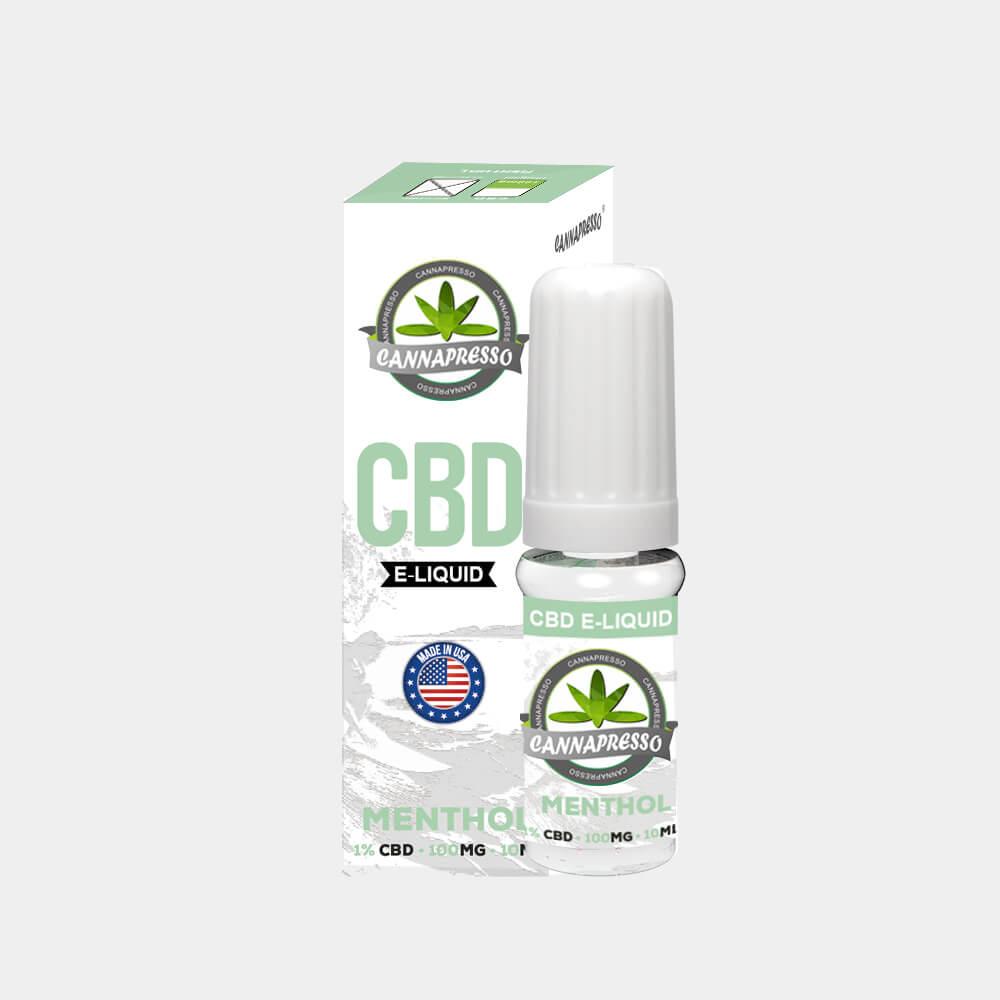 Cannapresso - Mint CBD E-Liquid (10ml/100mg)