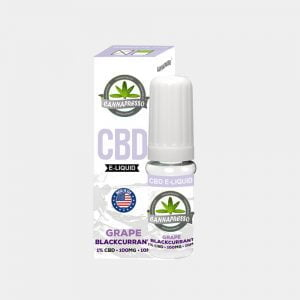 Cannapresso - Grape-Blackcurran CBD E-Liquid (10ml/100mg)
