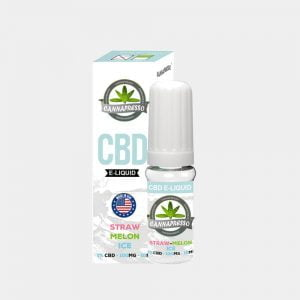 Cannapresso - Straw-Melon Ice CBD E-Liquid (10ml/100mg)