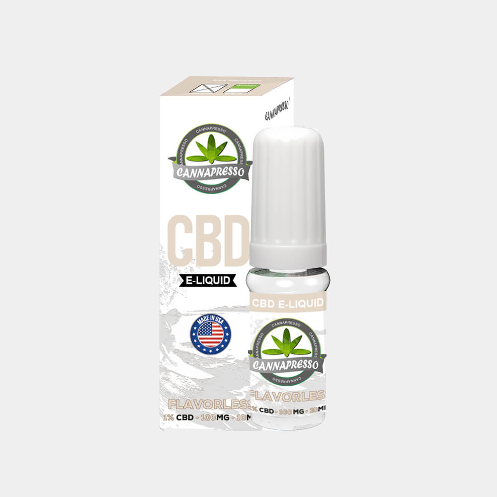 Cannapresso - Flavorless CBD E-Liquid (10ml/100mg)