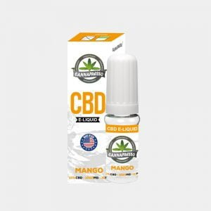 Cannapresso - Mango CBD E-Liquid (10ml/1000mg)