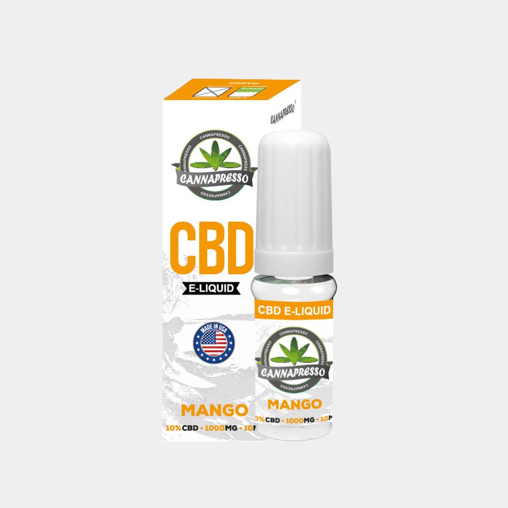 Cannapresso - Mango CBD E-Liquid (10ml/1000mg)