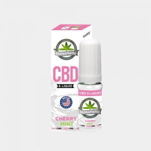 Cannapresso - Cherry Mint CBD E-Liquid (10ml/1000mg)