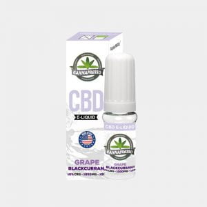 Cannapresso - Grape-Blackcurran CBD E-Liquid (10ml/1000mg)
