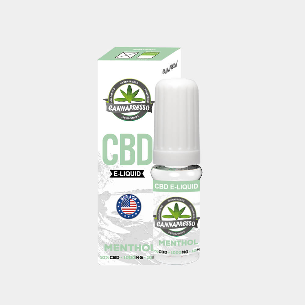 Cannapresso - Mint CBD E-Liquid (10ml/1000mg)