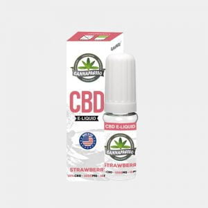 Cannapresso - Strawberry CBD E-Liquid (10ml/1000mg)