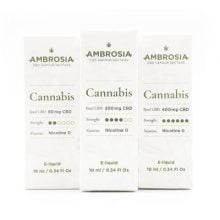 Enecta 200mg CBD Ambrosia Cannabis E-Liquid (10ml)