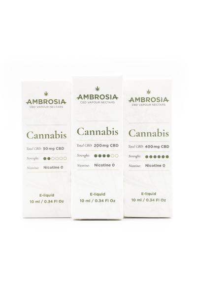 Enecta 50mg CBD Ambrosia Cannabis E-Liquid (10ml)