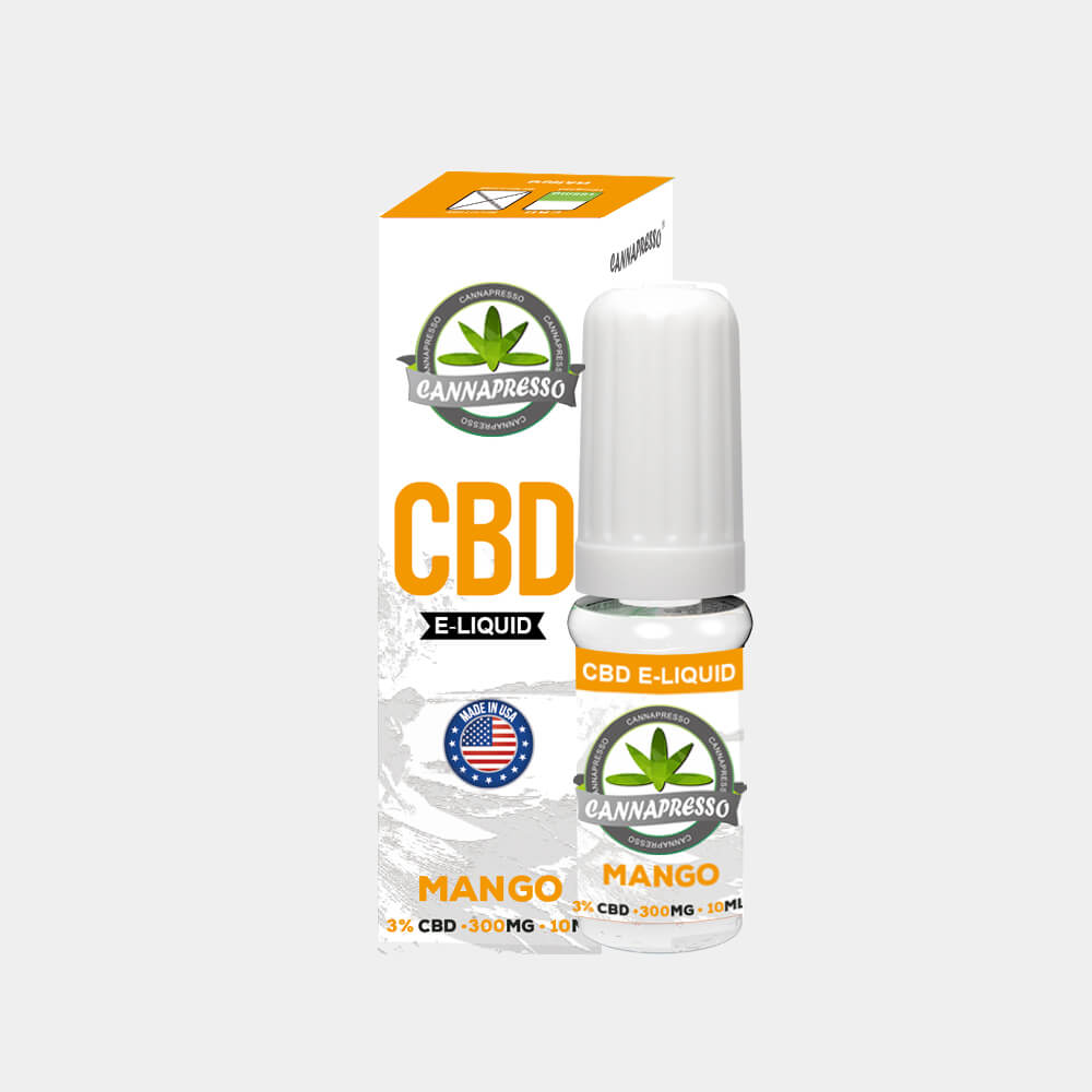 Cannapresso - Mango CBD E-Liquid (10ml/300mg)