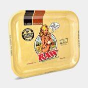 RAW - Bikini Large Metal Rolling Tray