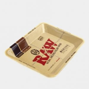 RAW - Original Small Metal Rolling Tray