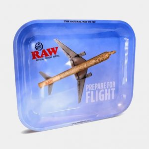 RAW - Prepare For Flight Large Rolling Tray