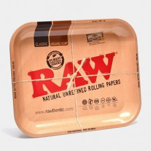 RAW - Original Large Metal Rolling Tray