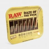 RAW - Daze Of The Week Large Metal Rolling Tray