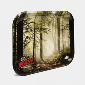 RAW - Forest Large Metal Rolling Tray