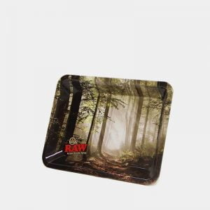 RAW - Forest Small Metal Rolling Tray