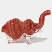 Red elephant glass pipe 2