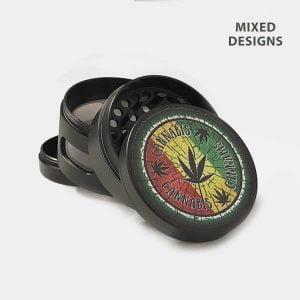 Rasta 2 metal grinder 50mm - 4 parts (6pcs/display)