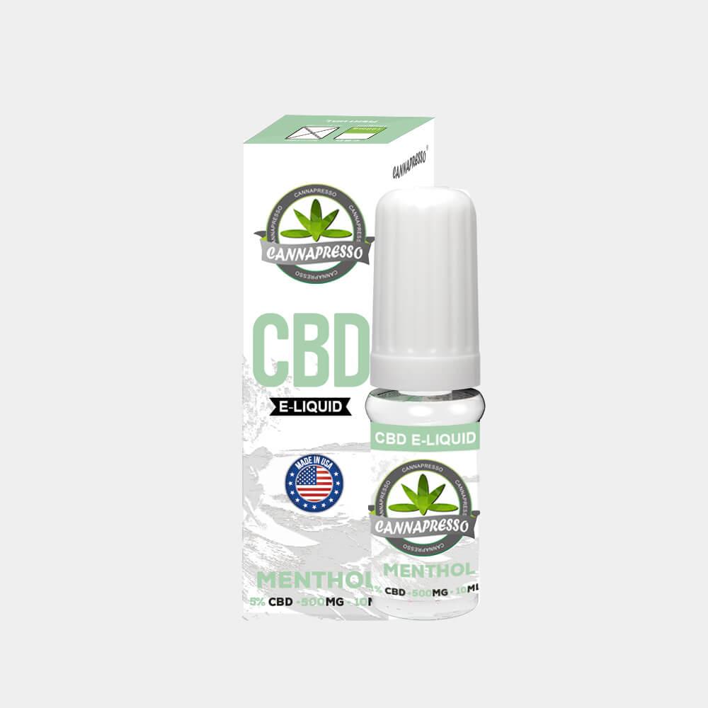 Cannapresso - Mint CBD E-Liquid (10ml/500mg)