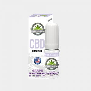 Cannapresso - Grape-Blackcurran CBD E-Liquid (10ml/500mg)