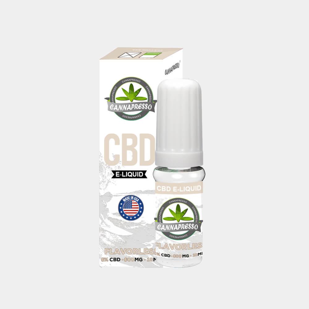 Cannapresso - Flavorless CBD E-Liquid (10ml/500mg)