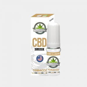 Cannapresso - Tobacco CBD E-Liquid (10ml/500mg)