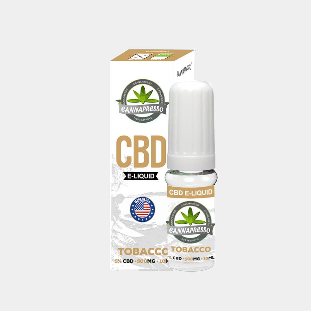 Cannapresso - Tobacco CBD E-Liquid (10ml/1000mg)
