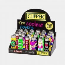 Clipper™ Boobs silicone cover lighters (24pcs/display)
