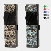 Combie™ All-In-One pocket grinder - Mexican skulls (10pcs/display)