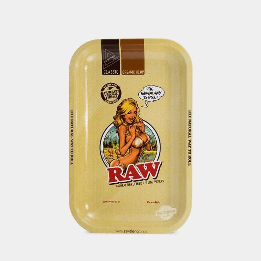 RAW - Bikini Medium Metal Rolling Tray