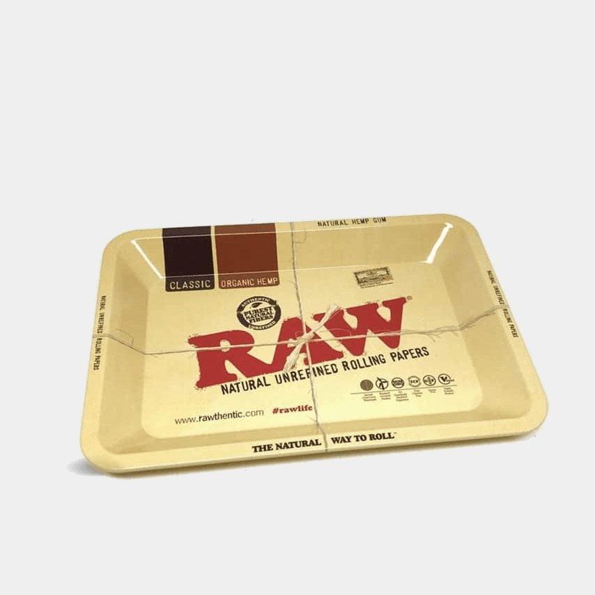 RAW - Original Small Metal Rolling Tray