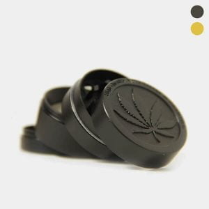 Weed leaf 2 metal grinder 40mm - 4 parts (6pcs/display)