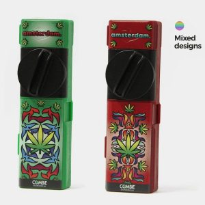 Combie™ All-In-One pocket grinder - Indian leaves (10pcs/display)