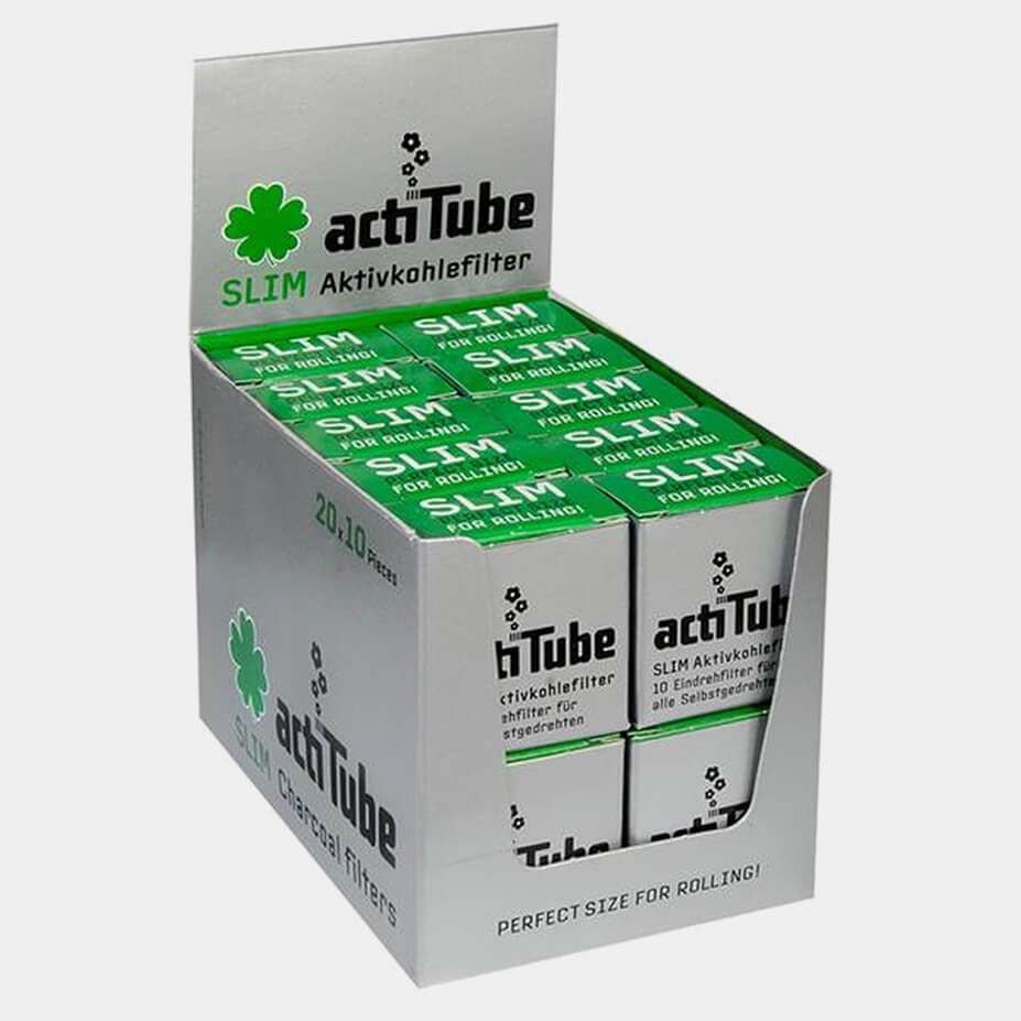 Actitube active carbon slim filters (20pcs/display)