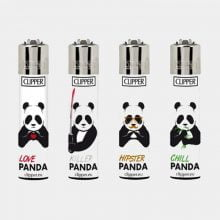 Clipper™ Killer pandas lighters (24pcs/display)
