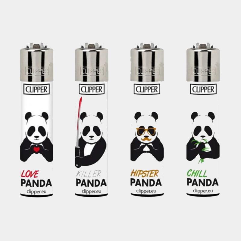 Clipper™ Killer pandas lighters (24pcs/display)