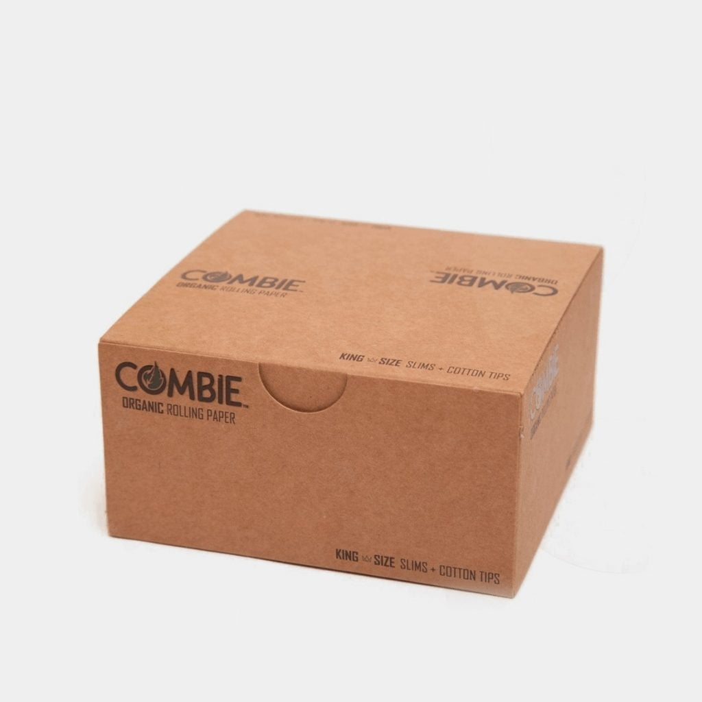 Combie kingsize slim rolling papers + tips (24pcs/display)