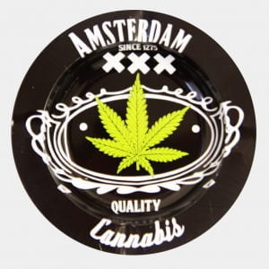 Amsterdam XXX quality metal ashtray