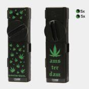 Combie™ All-In-One pocket grinder - Amsterdam leaves 1 (10pcs/display)