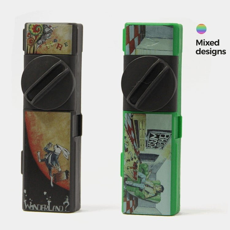 Combie™ All-In-One pocket grinder - Alice's world (10pcs/display)