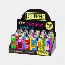 Clipper™ Sexy quotes silicone cover lighters (24pcs/display)