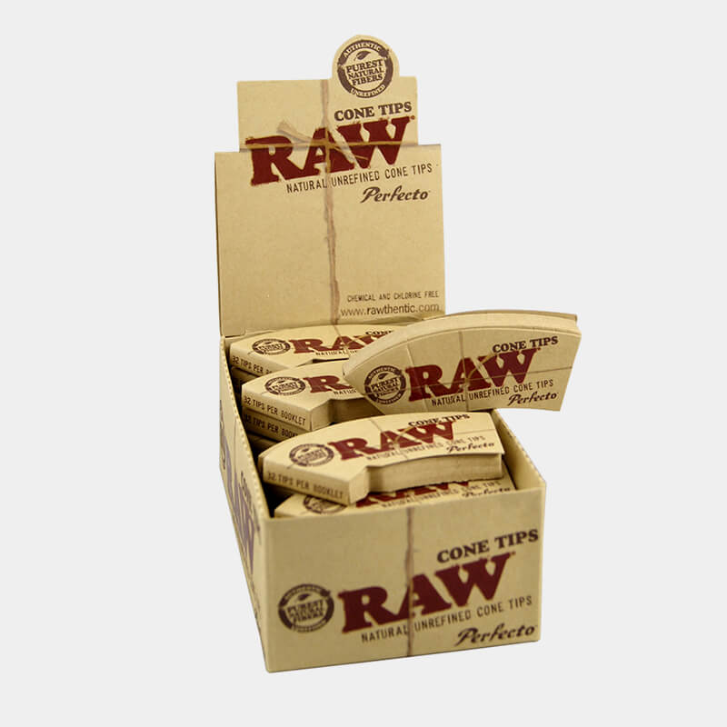 RAW Cone curved tips (24pcs/display)