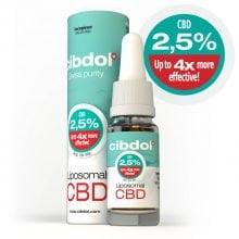 Cibdol - 2.5% liposomal CBD oil (10ml)