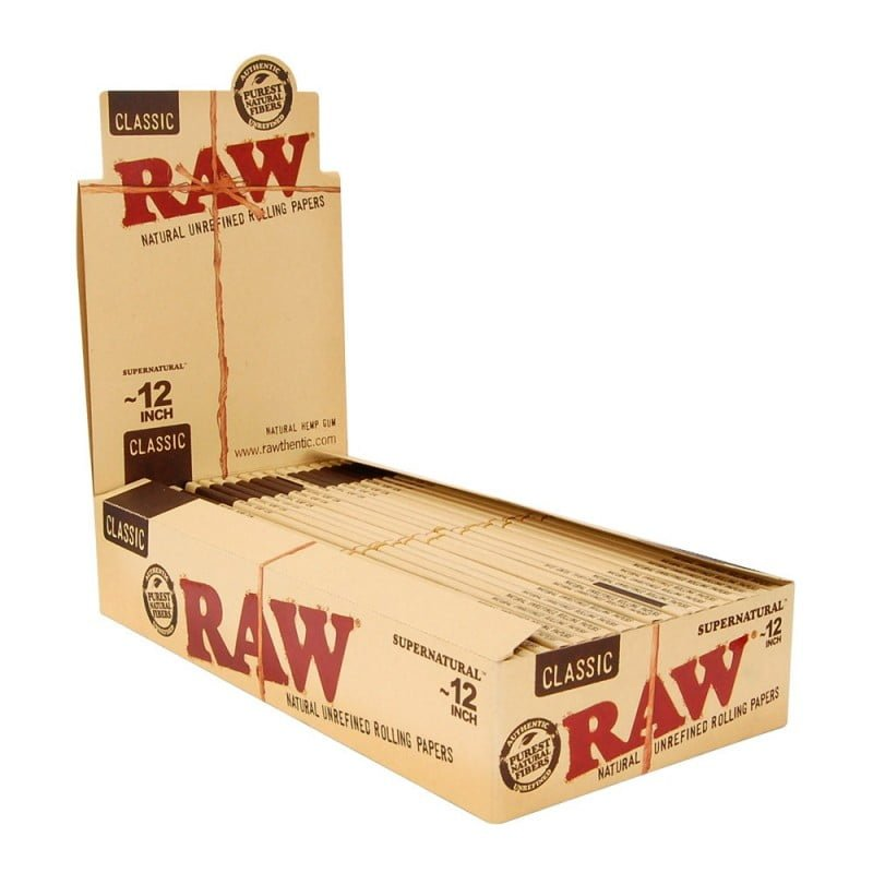 RAW 12 Inch supernatural rolling papers (20pcs/display)