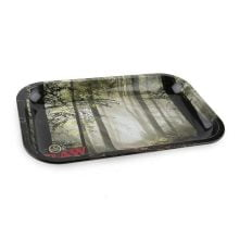 RAW - Forest Medium Metal Rolling Tray