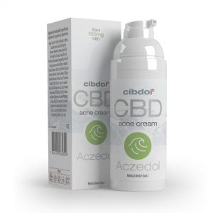 Cibdol -  Aczedol Anti-Acne 100mg CBD cream (50ml)