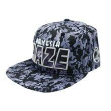 Lauren Rose - Amnesia Haze Camo + built-in stash 420 Hat